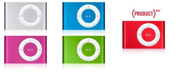 iPod Shuffle (2nd Generation)