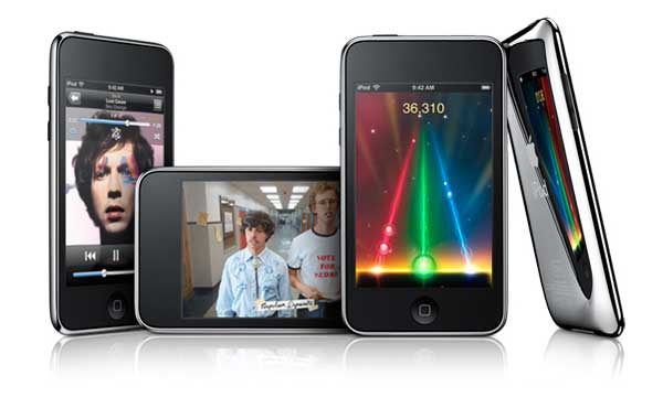 This is the 2nd generation of iPod Touch which features a stainless steel