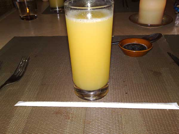 S$12.00 Pineapple Juice