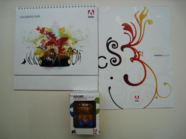 2008 Calendar, License Brochure, Small Figurine