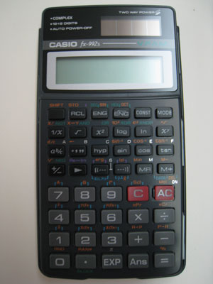 FX-992S Cover And Front View
