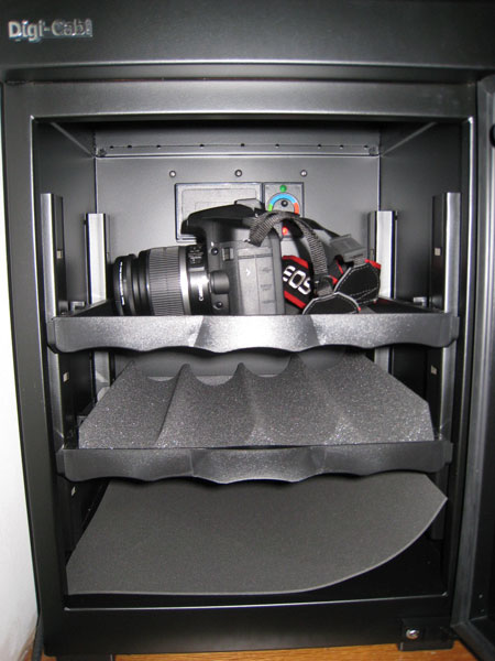 Camera In The Dry Cabinet