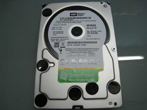 Western Digital Caviar Green Power (GP) 1TB