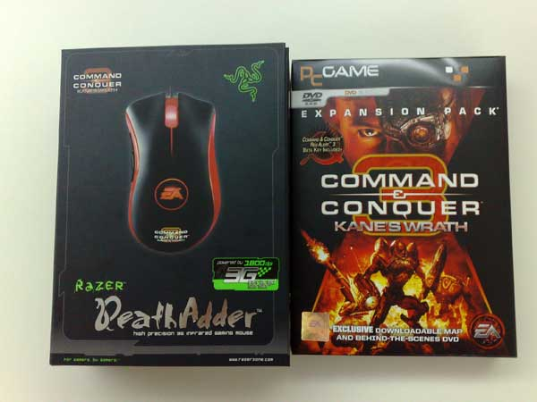 Kane's Wrath Game + Razor Deathadder Mouse
