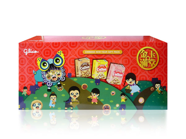 Glico Collon Chinese New Year Gift Pack