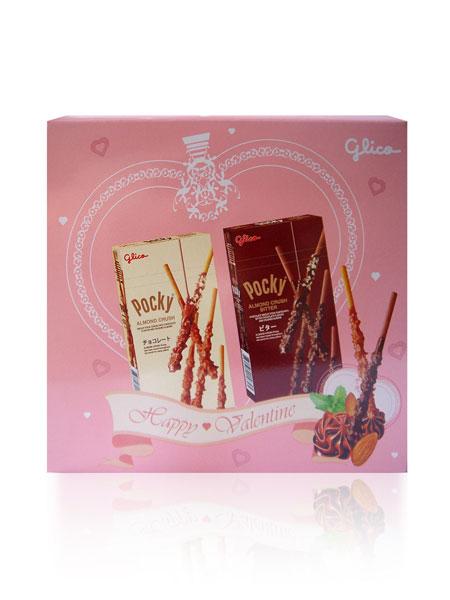 Glico Almond Crush Valentine's Day Gift Pack