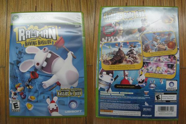 Rayman : Raving Rabbids For Xbox 360