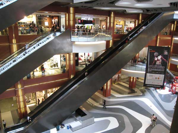 This Escalator Goes From 1st Level To 4th level!