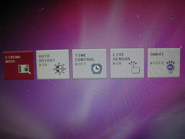 Monitor Menu - Smart