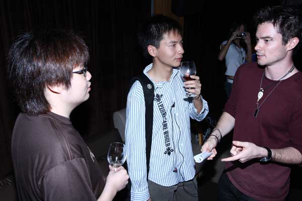 Me And Another Guy (Didn't Catch His Name) Chatting With <a href=