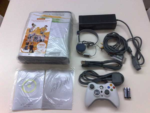 Contents Included In Xbox 360 Pro Console