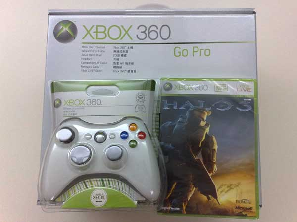 Inside The Box, There Is Another Box, Wireless Controller And Halo 3