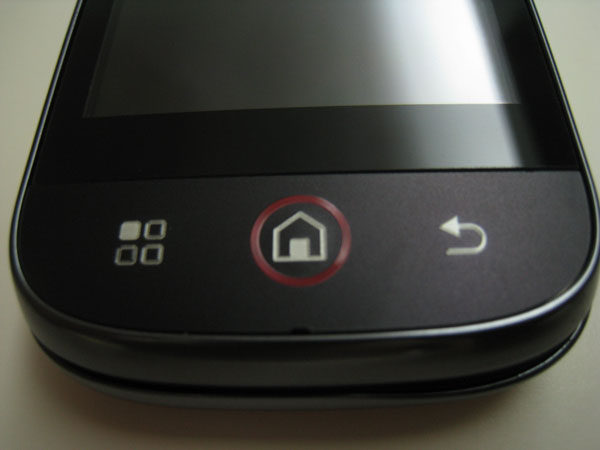 Front Hardware Buttons
