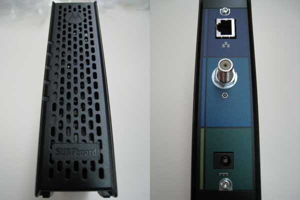 Modem - Front/Back View
