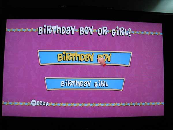 Birthday Boy Or Girl?