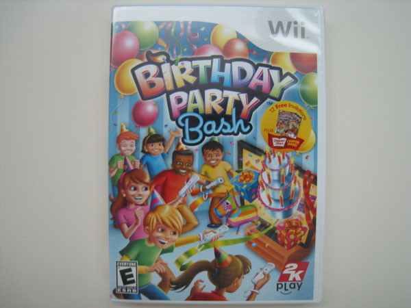 Wii Birthday Party Bash (Front)