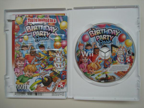 Wii Birthday Party Bash (Inside)