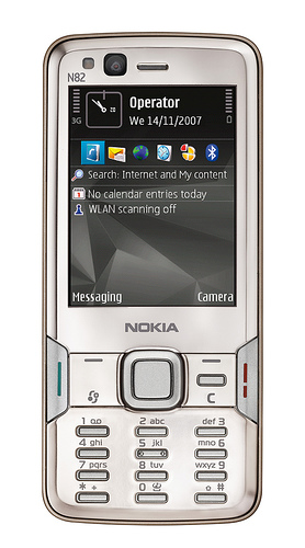 Nokia N82 - Front View