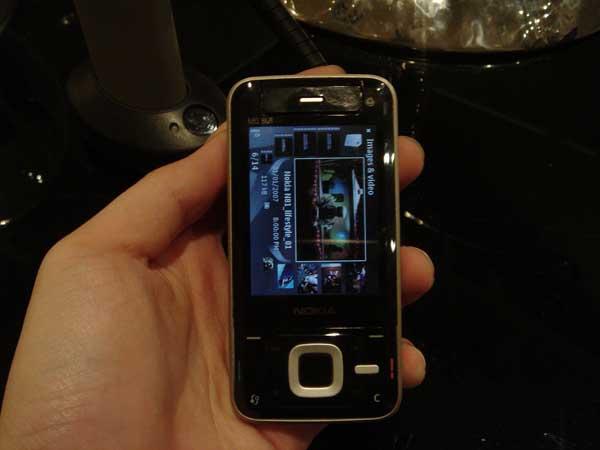Nokia N81 Live Shot