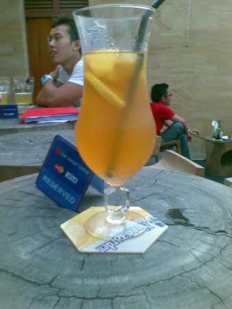 Screening Room - Rooftop Bar - Ice Lemon Tea