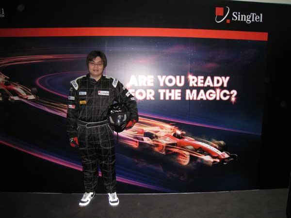 In F1 Suit