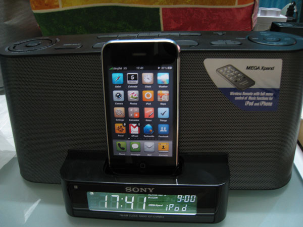 iPhone 3GS Docked In