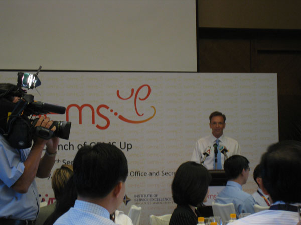 Mike Barclay, CEO of Sentosa Group
