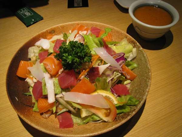 Sashimi Salad - S$9